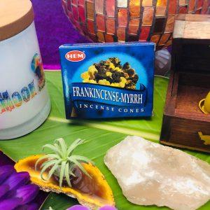 Frankincense-Myrrh Incense Cones