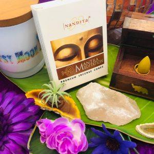 Mantra Meditation Incense Cones