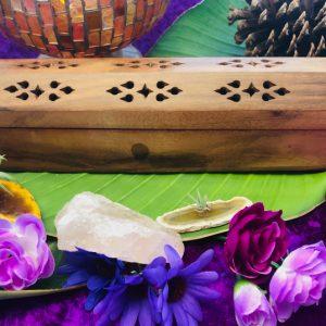 Wooden Incense Stick and Cone Plain Box