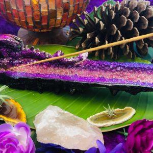 Purple Dragon Incense Holder