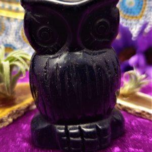 Blue Goldstone Owl