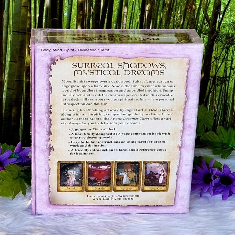 Mystic Dreamer Tarot Set by Barbara Moore and Heidi Darras