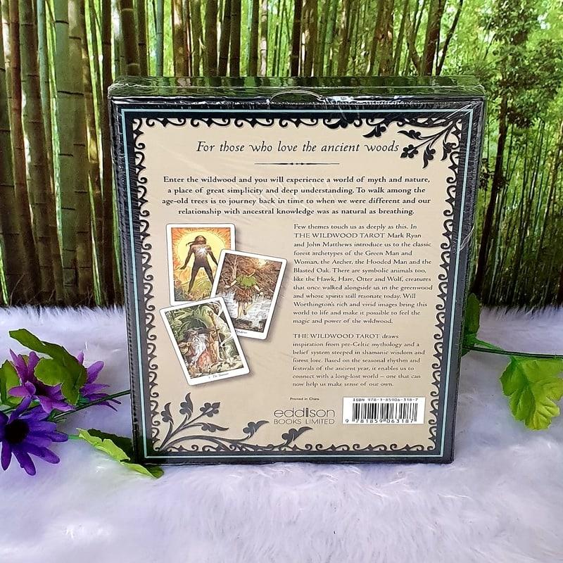 The Wild Wood Tarot: Wherein wisdom resides by Mark Ryan and John Matthews