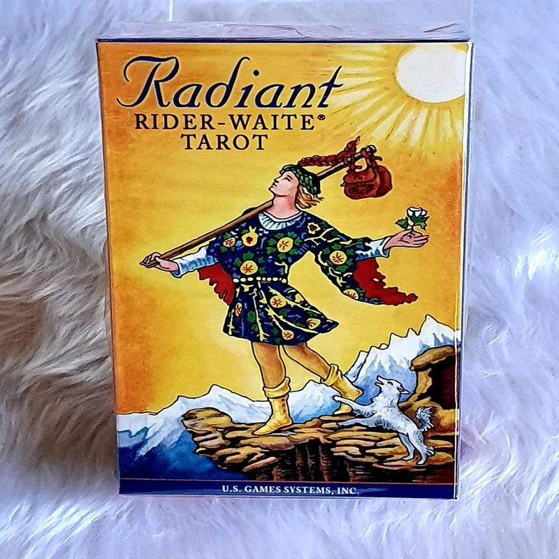 Radiant Rider-Waite Tarot-A vibrantly recoloured version of the Original by Arthur Waite