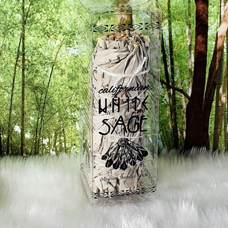 Californian Medium White Sage Smudge Stick