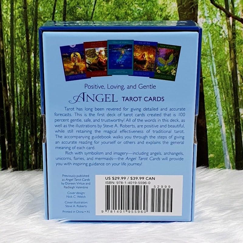 Angel Tarot Cards by Radleigh Valentine, Artwork by Steve A Roberts