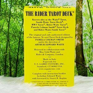 Rider Waite Tarot Deck-STD by Arthur Edward Waite