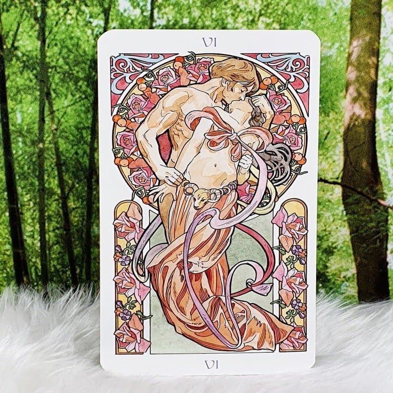 Art Nouveau Tarot by Antonella Castelli