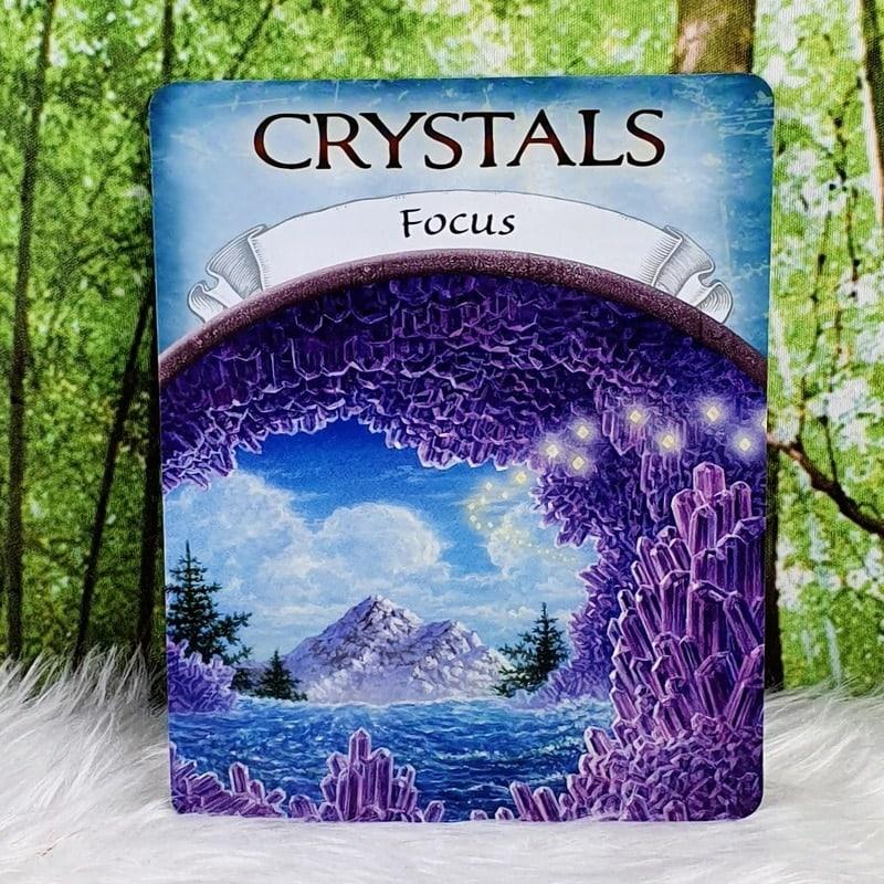 Earth Magic Oracle Cards by Steven Farmer