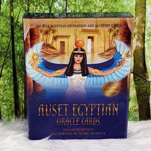 Auset Egyptian Oracle by Elisabeth Jensen