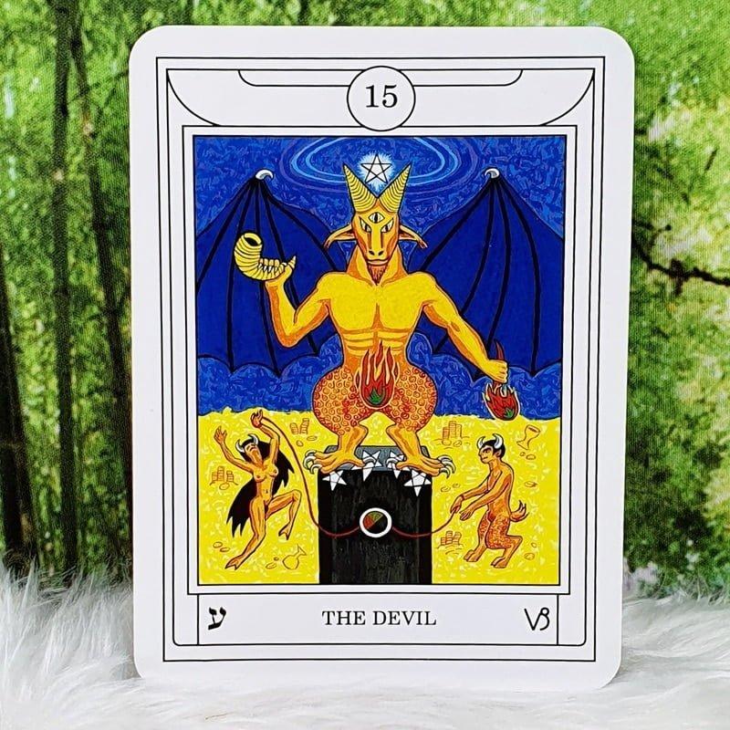 Golden Dawn Magical Tarot by C & S Cicero