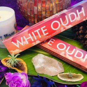 White Oudh Incense Sticks