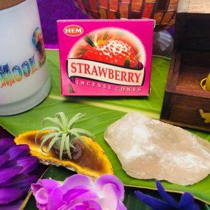 Hem Strawberry Incense Cones