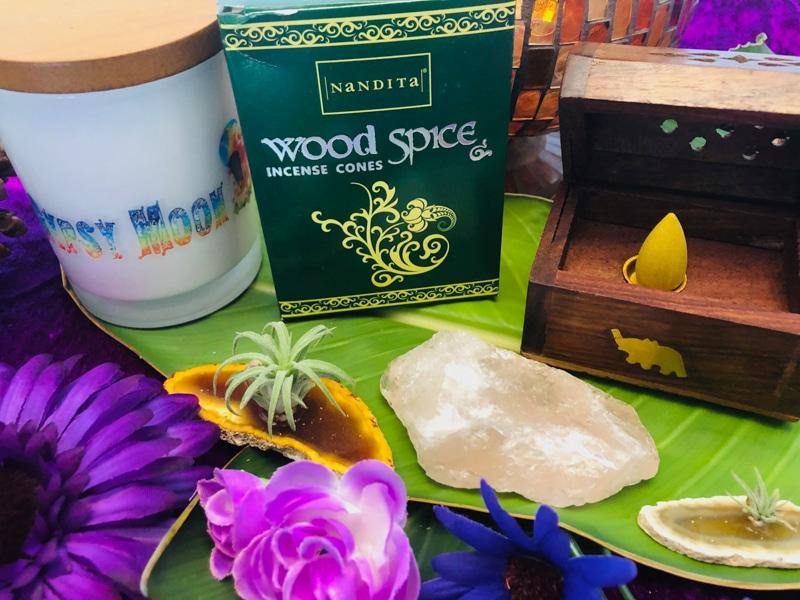 Wood Spice Incense Cones
