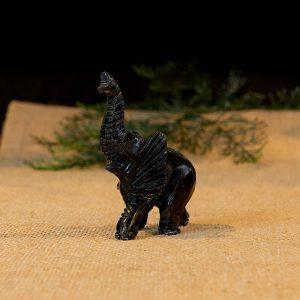 Black Onyx Elephant