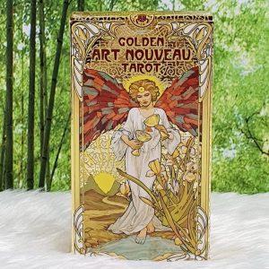 Golden Art Nouveau by Giulia Massaglia