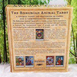 The Bohemian Animal Tarot by Scott Alexander King