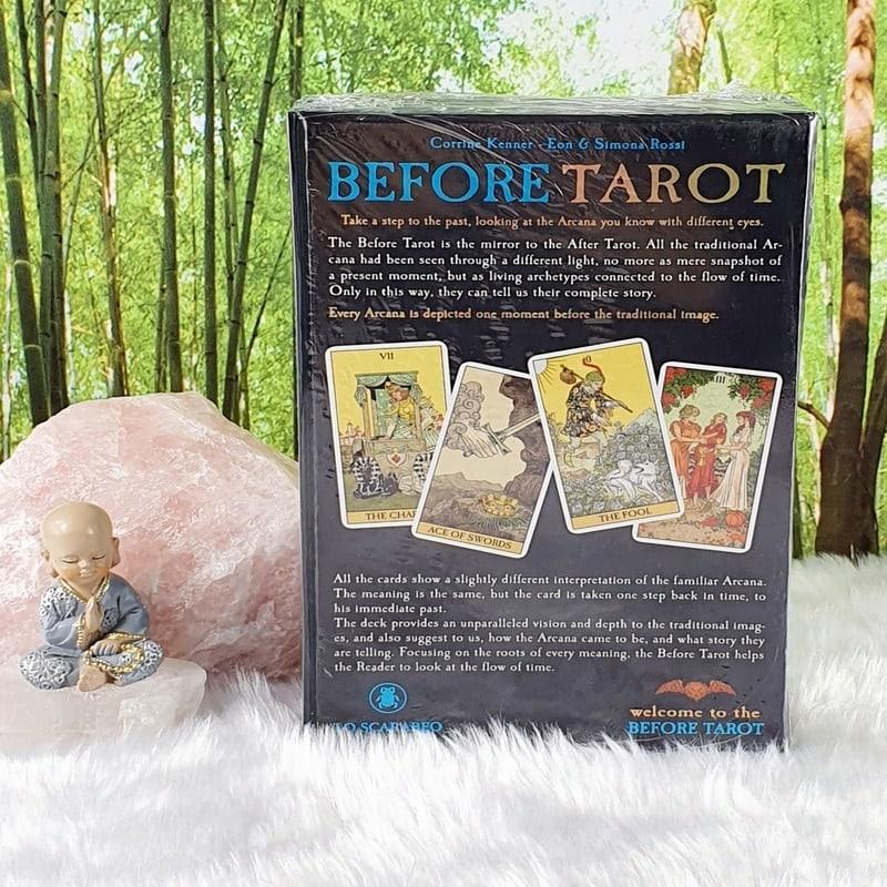 Before Tarot Kit: Tarot: One Moment Before by Corrine Kenner, Artwork by Eon & Simona Rossi
