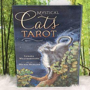 Mystical Cats Tarot by Lunaea Weatherstone