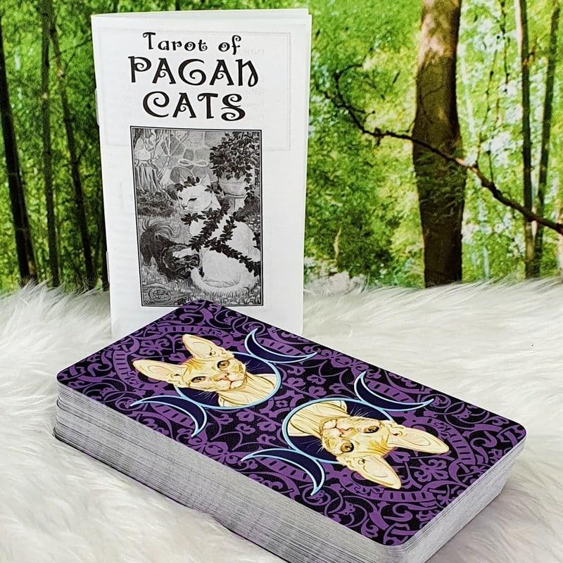 Tarot of Pagan Cats by Magdelina Messina
