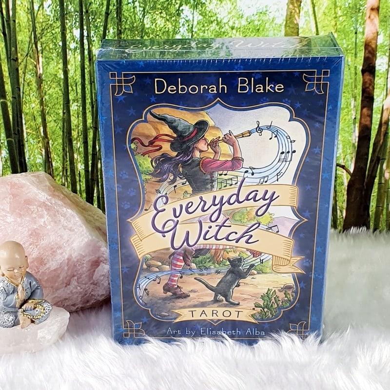 Everyday Witch Tarot by Deborah Blake, Art by Elisabeth Alba