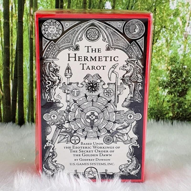 The Hermetic Tarot Deck by Godfrey Dowson