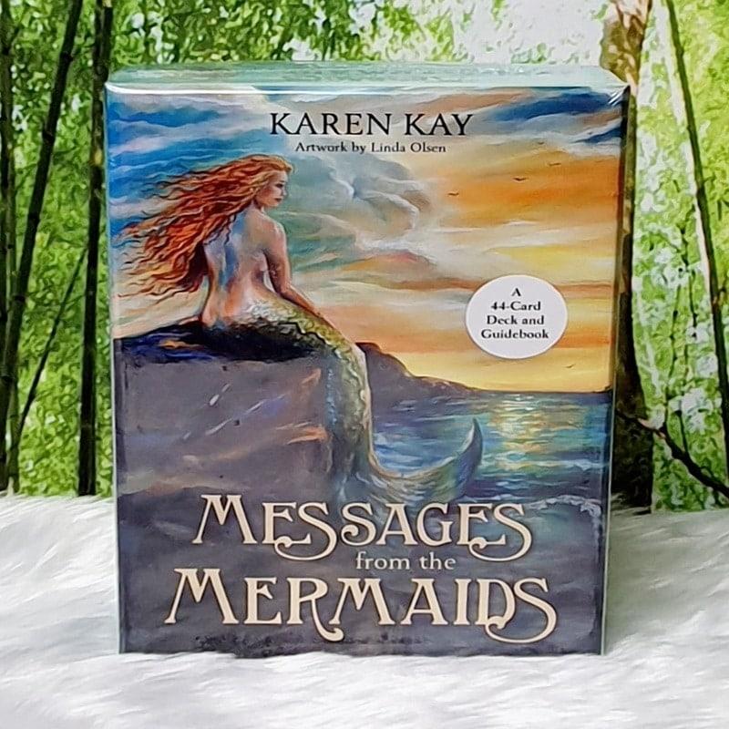 Messages from the Mermaids Oracle by Karen Kay, Artwork by Linda Olsen