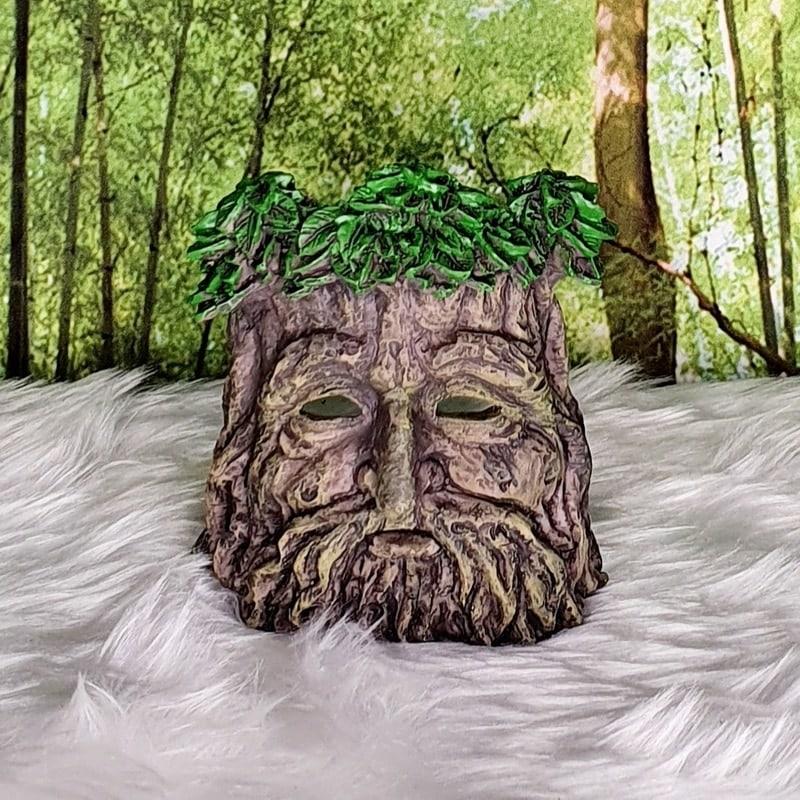 Green Tree Man Tealight/Incense Burner