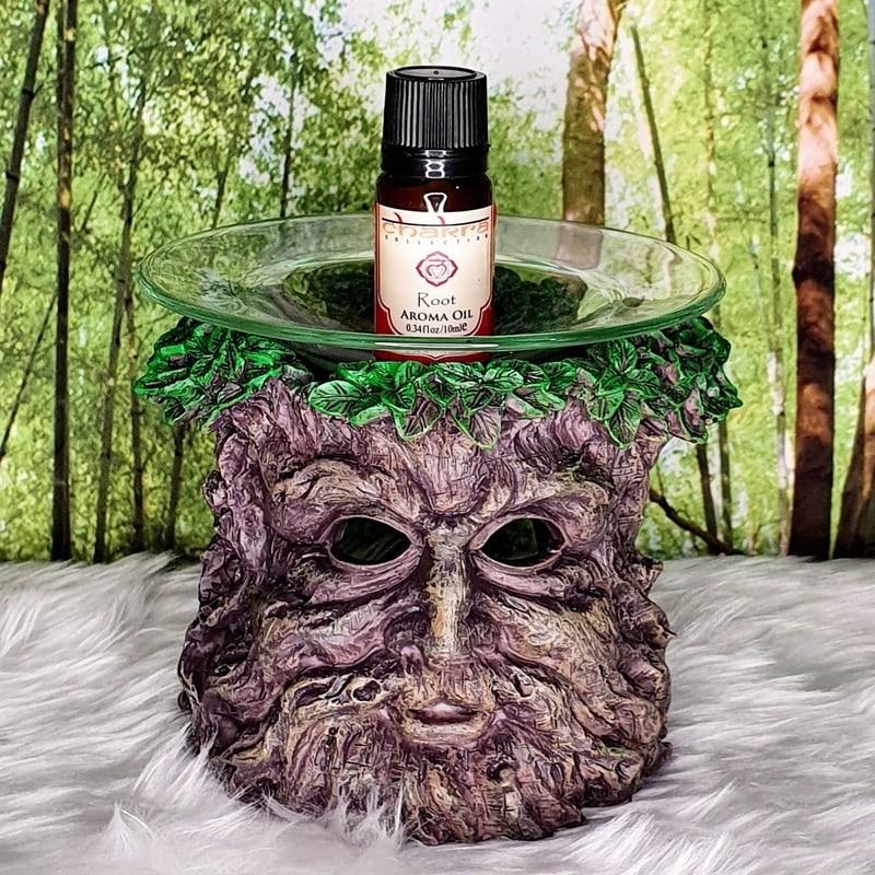 Green Tree Man Oil Burner