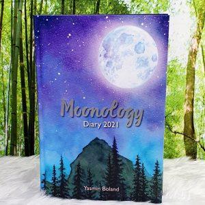 2021 Moonology Diary by Yasmin Boland