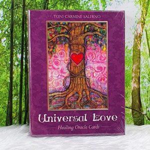 Universal Love Healing Oracle by Toni Carmine Salerno