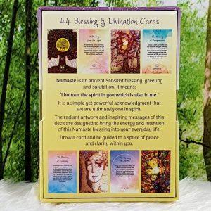 Namaste Blessing & Divination Cards: Toni Carmine Salerno
