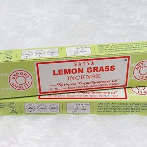 Lemongrass Satya Incense Sticks
