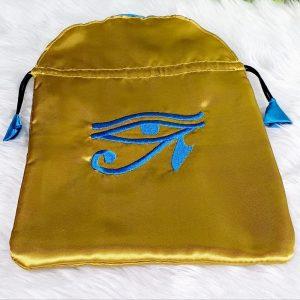 Eye of Horus Satin Tarot/Oracle Bag