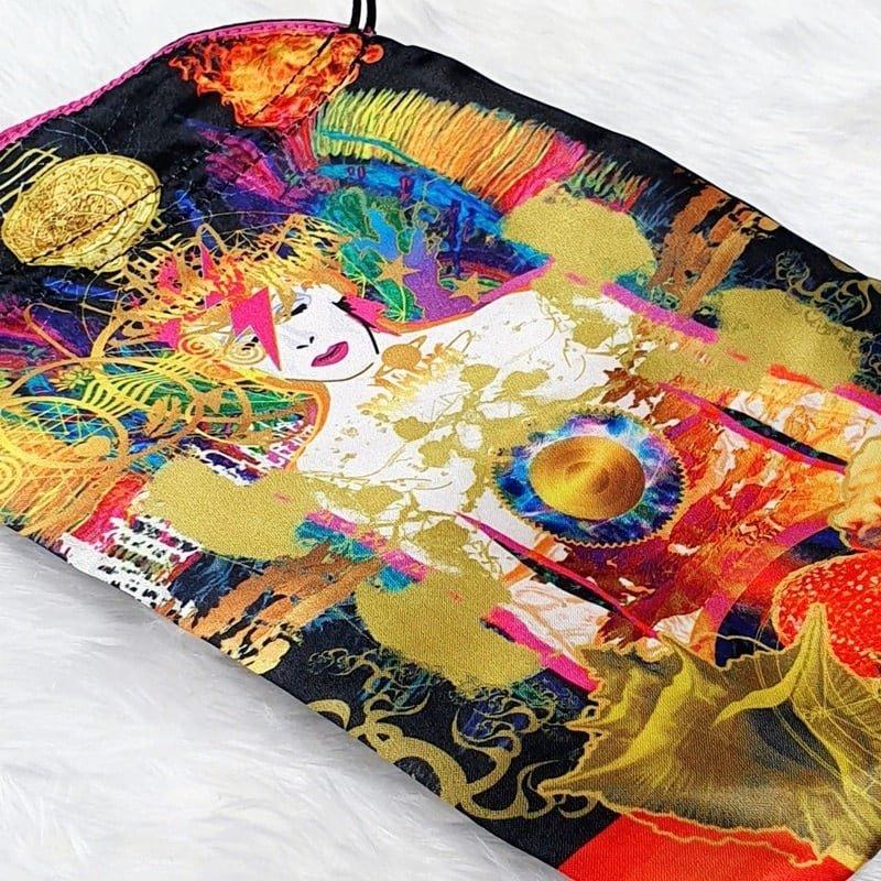 Starman Satin Tarot Bag