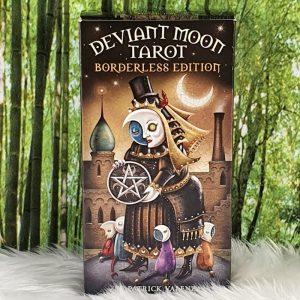 Deviant Moon Tarot: Borderless Edition by Patrick Valenza