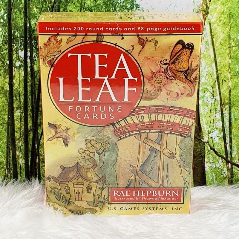 Tea Leaf Fortune Cards by Rae Hepburn