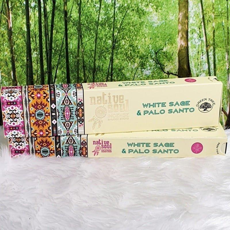 White Sage & Palo Santo Incense Sticks