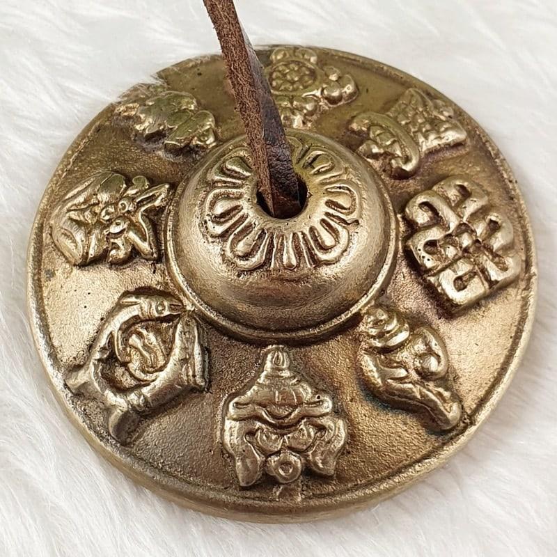 Brass Tingsha Tibetan Prayer Bells